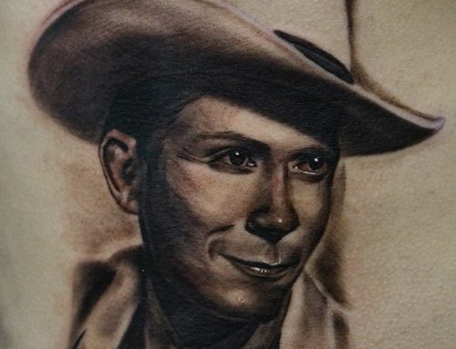 Hank Williams Portrait